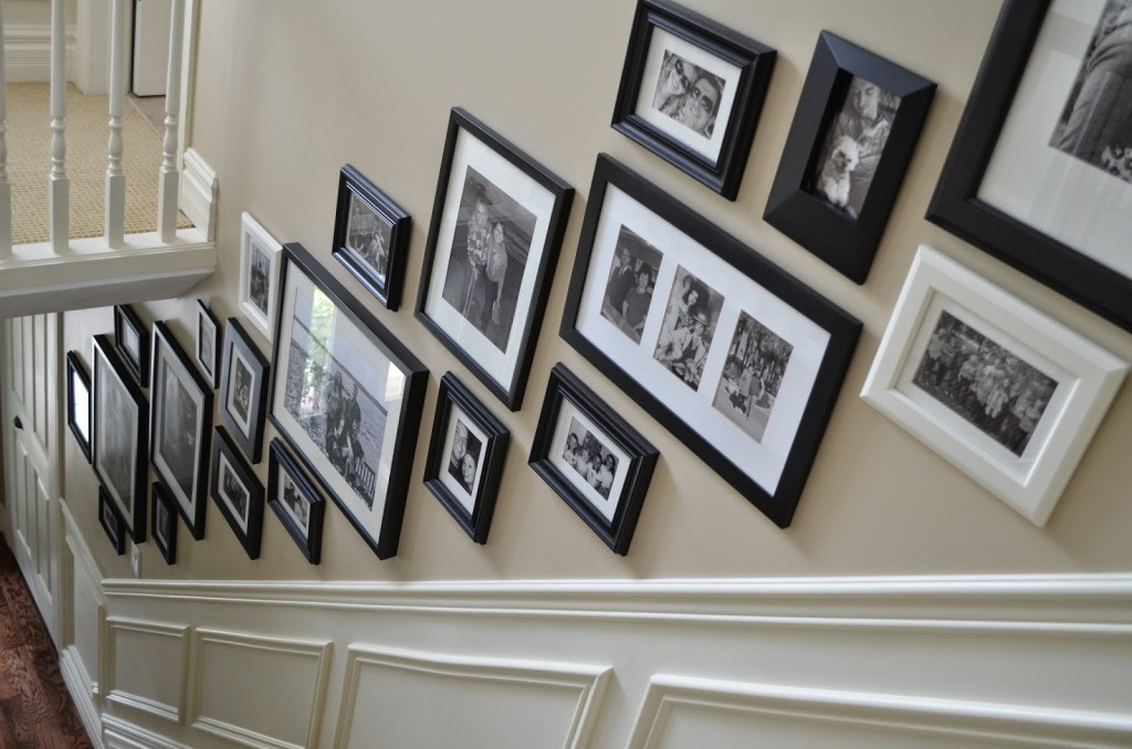 Superior How To Create A Stairway Gallery Wall
