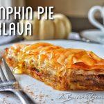 Pumpkin Pie Baklava