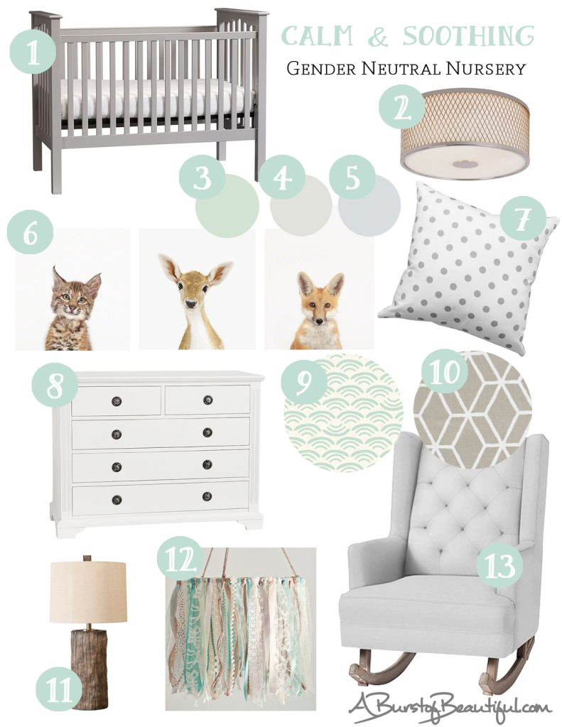 Soothing Colors For Baby Girl Room 327 Best Nursery D Cor
