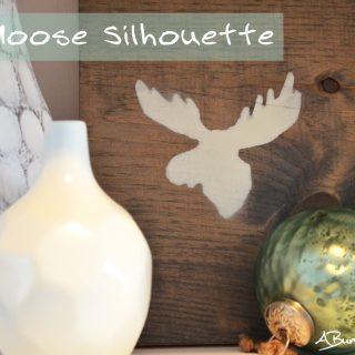 DIY Moose Silhouette