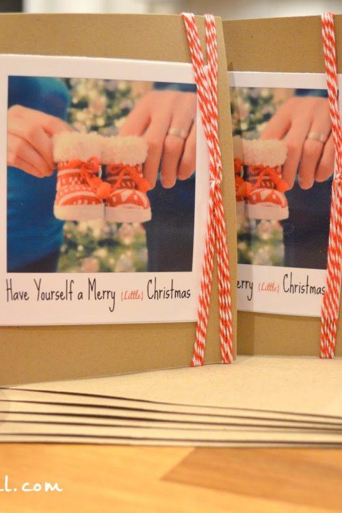 DIY Holiday Cards