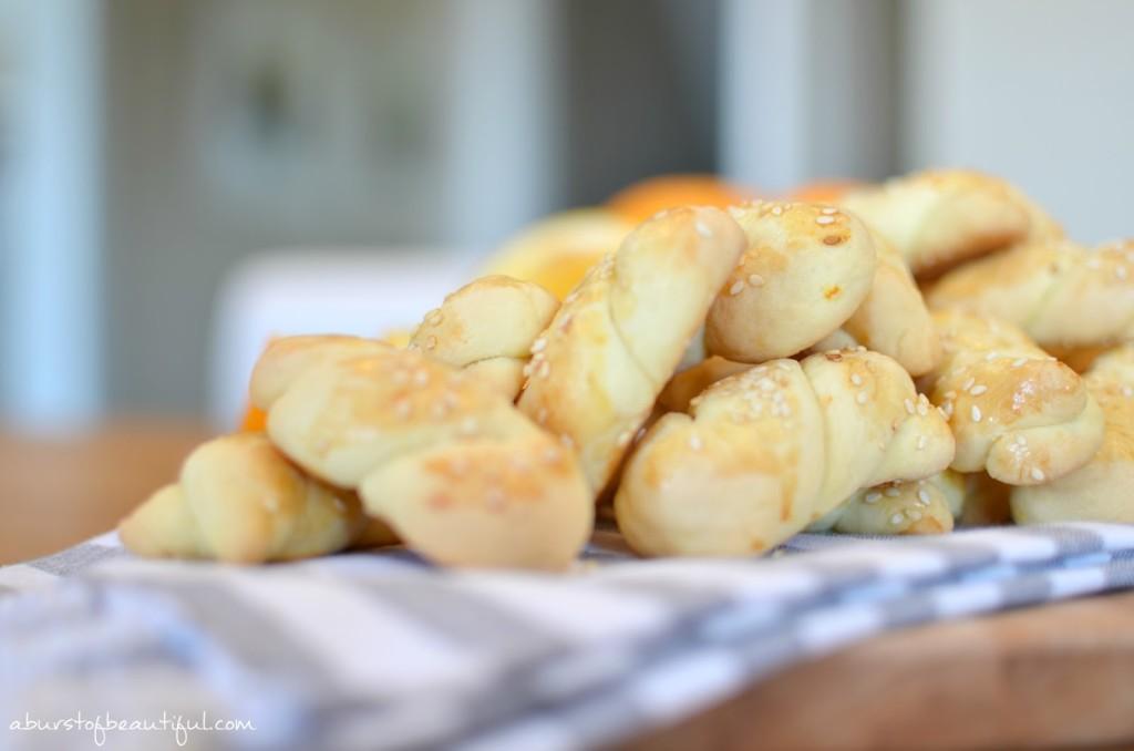 Greek Orange Biscuits