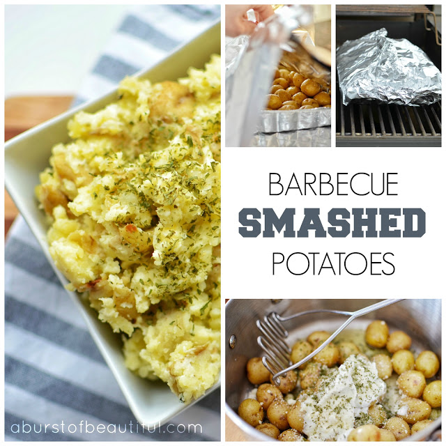 Barbecue Smashed Potatoes