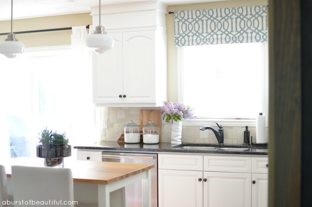 DIY Window Valance