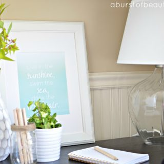 Summer Printable & Vignette {Blog Hop}