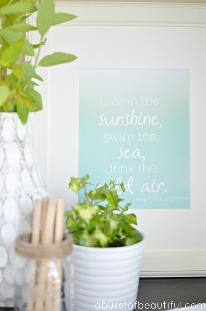 Summer Printable & Vignette