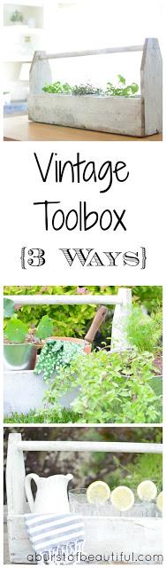 Vintage Toolbox {3 Ways}