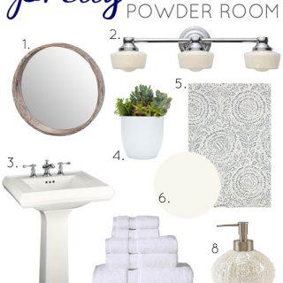 Pretty Powder Room