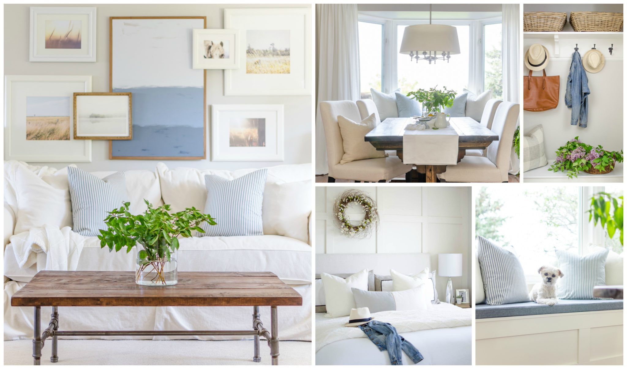 A Burst Of Beautiful Modern Farmhouse Home Tour
