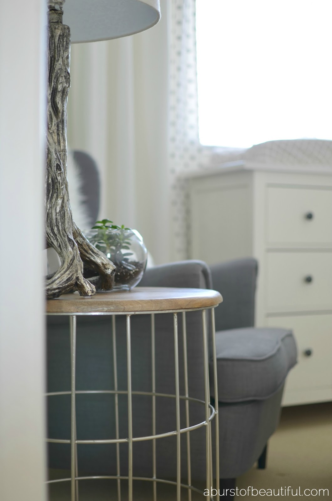 A soft and soothing gender neutral nursery | A Burst of Beautiful