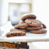 Chocolate Peanut Butter Cookies {Gluten Free}