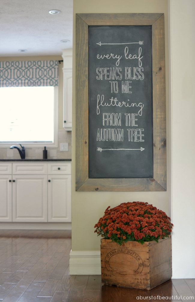 Chalkboard Ideas For Kitchen Wall