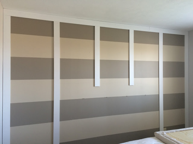DIY Paneled Wall Wainscoting
