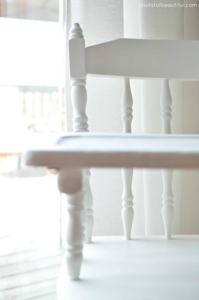 A Burst of Beautiful - Painted Vintage Highchair