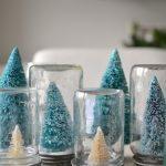 Bottle Brush Christmas Tree Snow Globe Tutorial