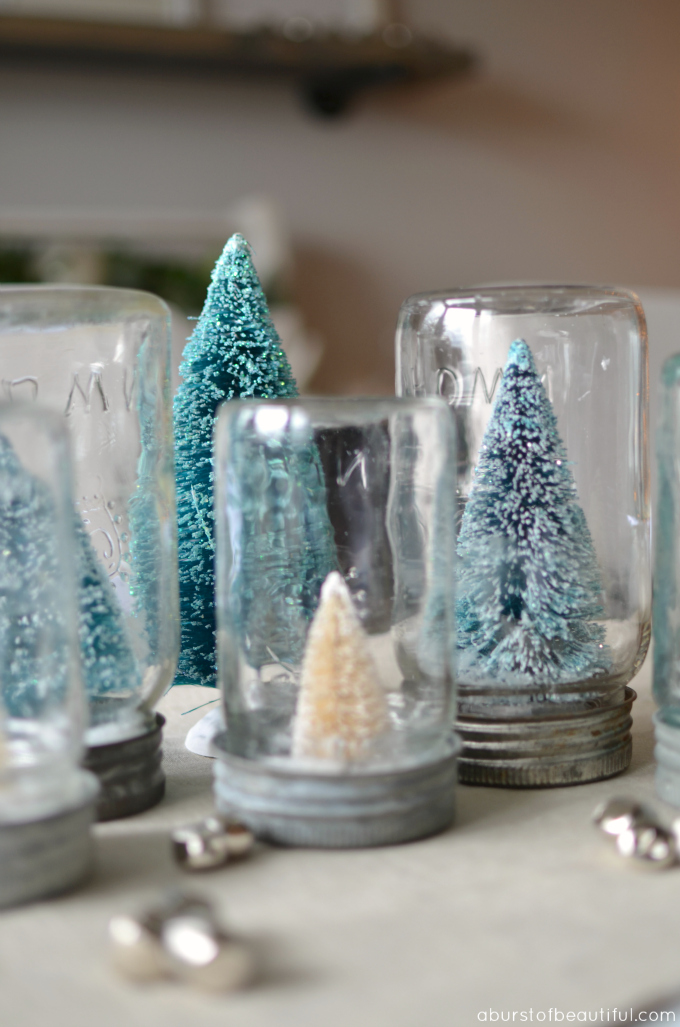 Small Glass Christmas Trees