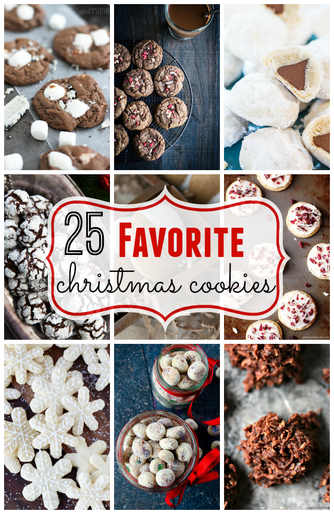 25 Favorite Christmas Cookie Recipes - A Burst of Beautiful