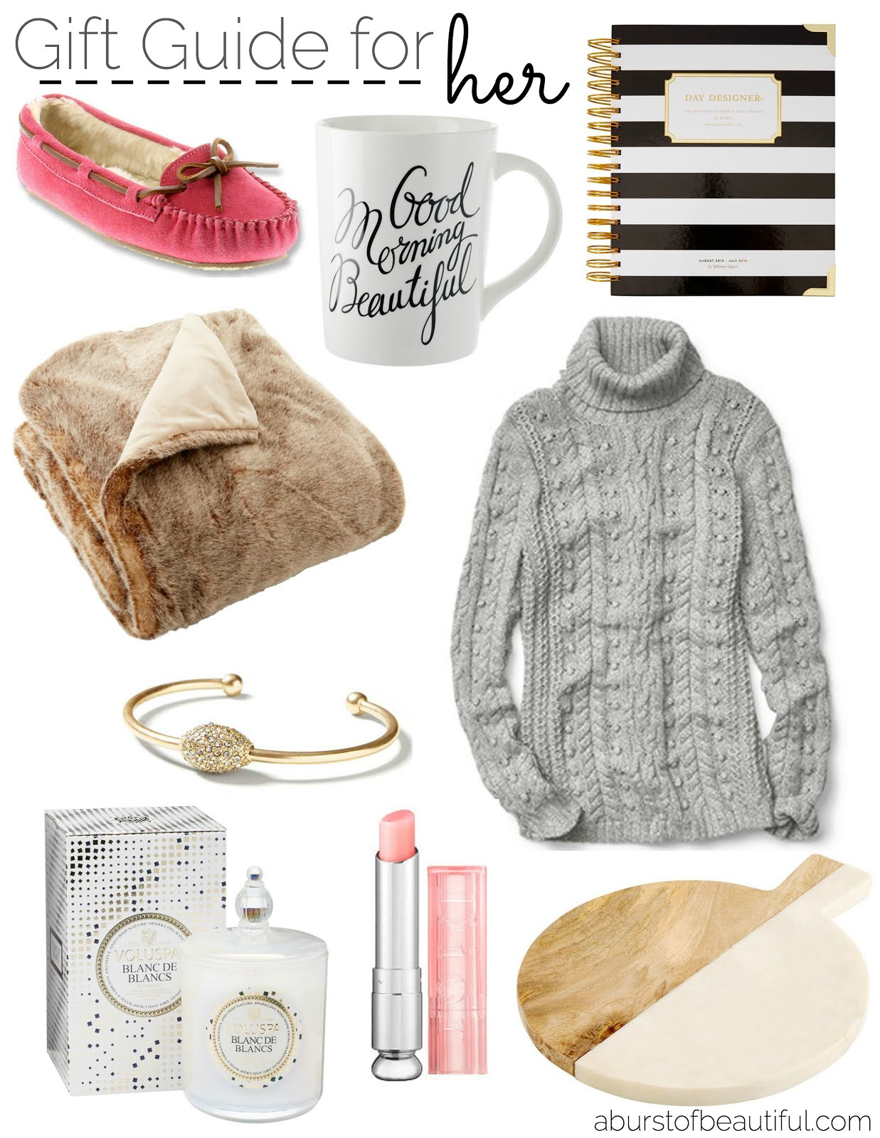 Holiday Gift Guide For Her A Burst Of Beautiful
