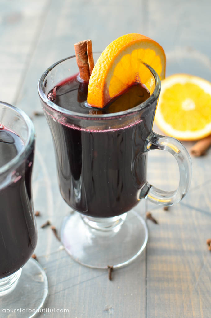 A Burst of Beautiful - Mulled Wine