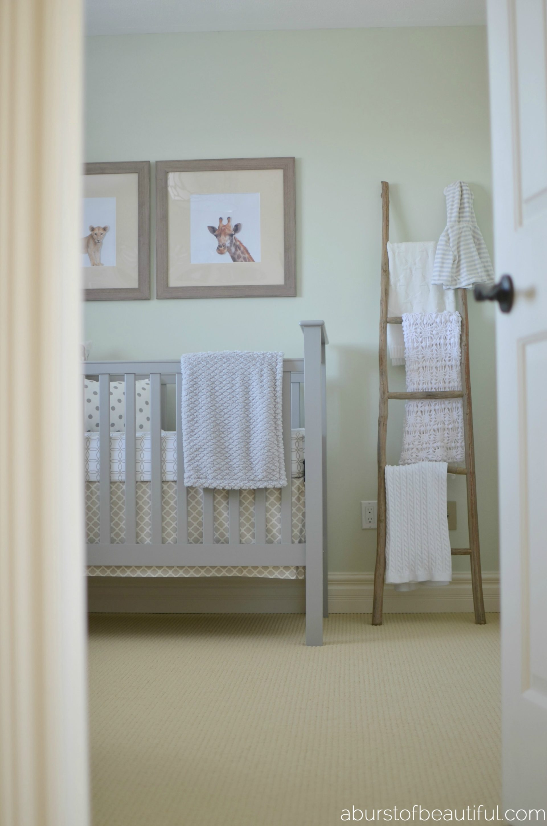 A Burst of Beautiful - Gender Neutral Safari Nursery
