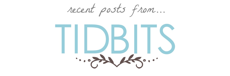 Recent Posts From_Tidbits_2016