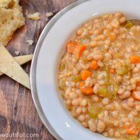 Slow Cooker Navy Bean Soup