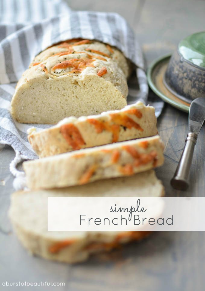 A Burst of Beautiful - Simple French Bread