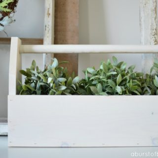 A Burst of Beautiful - DIY Vintage-Inspired Toolbox