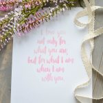 Free I Love You Printable