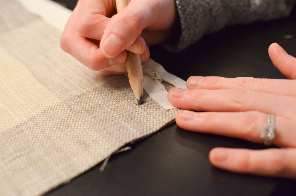 How to Sew a Zippered Pillow Cover - A Burst of Beautiful