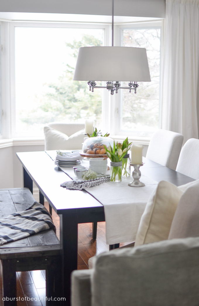 Farmhouse Open Living Dining Room