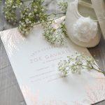 Foil Pressed Birthday Invitations