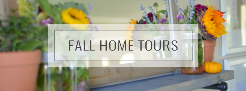Tour our home decorated for fall | A Burst of Beautiful