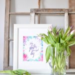 Free Spring Printable | Today Is A Good Day