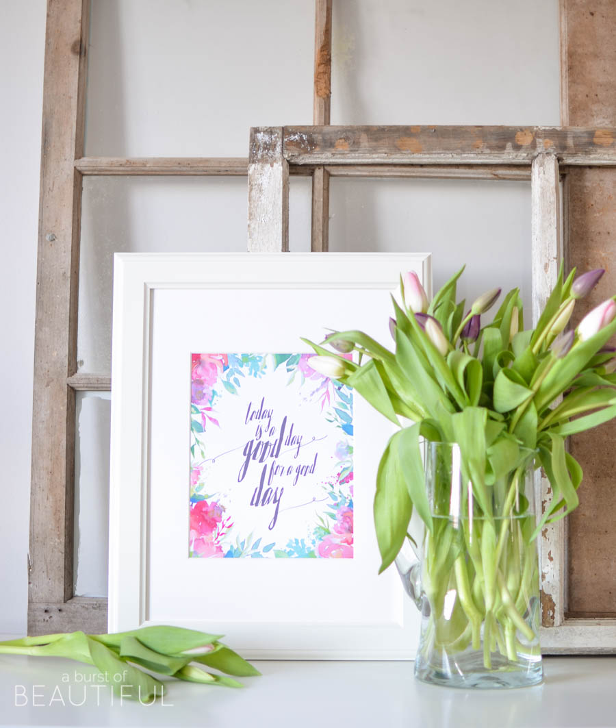 33 Free Spring Printables & Inspiring Vignettes |A Burst of Beautiful