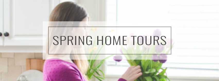 Tour our home decorated for spring | A Burst of Beautiful