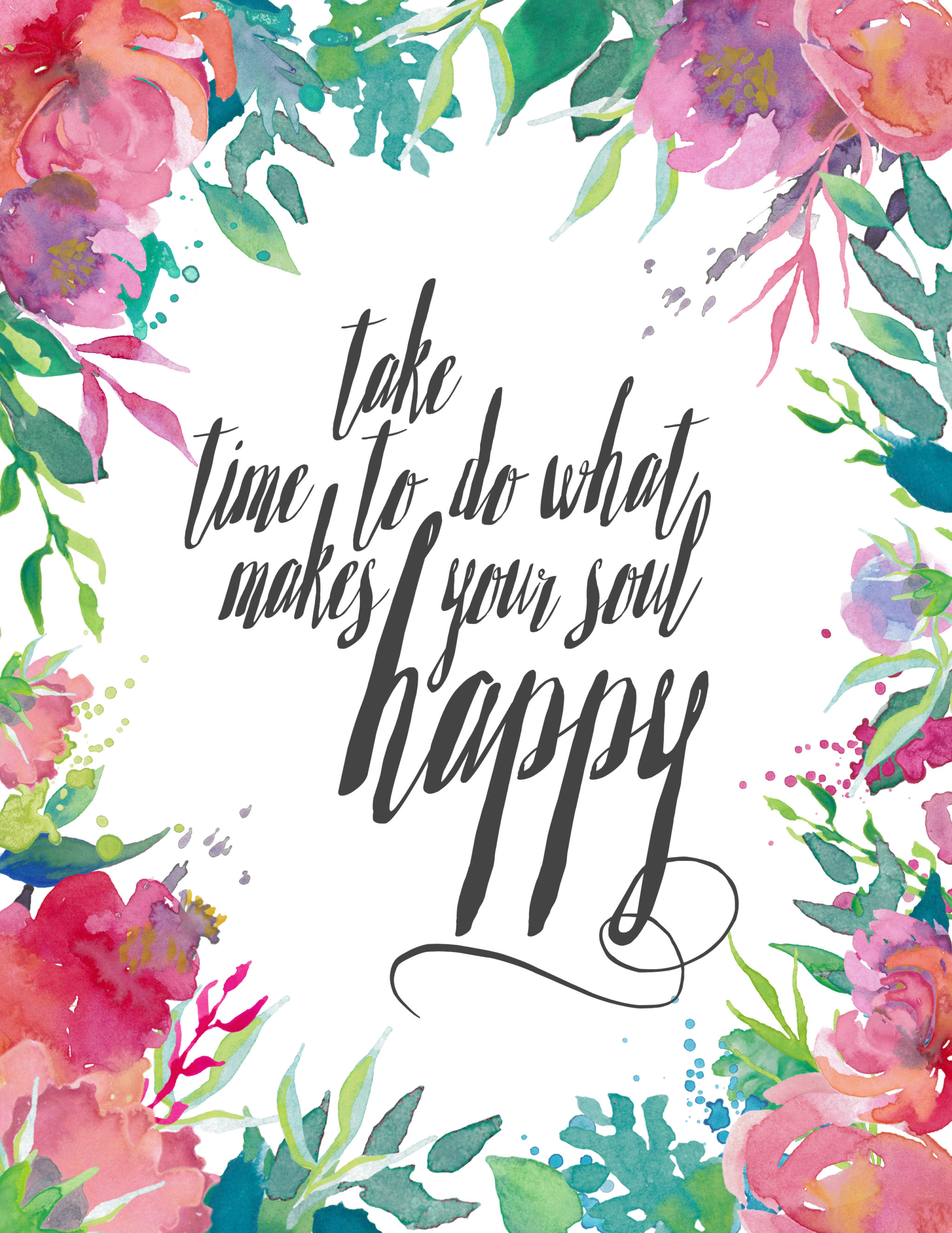 Spring Printable_Take Time