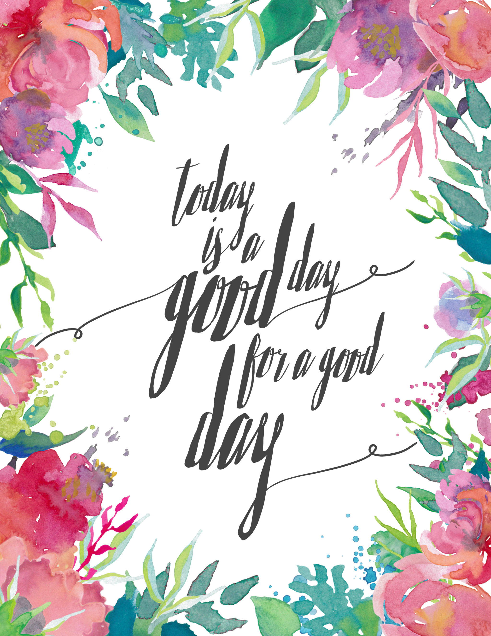 Spring Printable_Today Is a Good