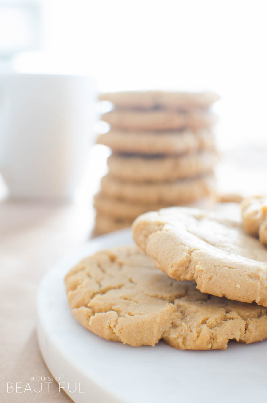 to come up with the ultimate peanut butter cookie recipe