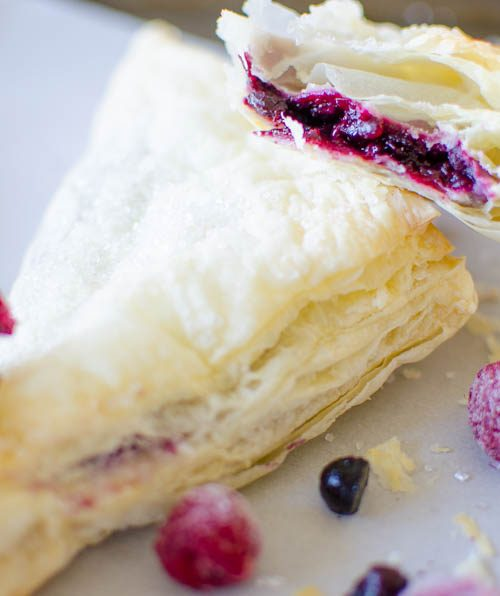 Easy Homemade Berry Turnovers