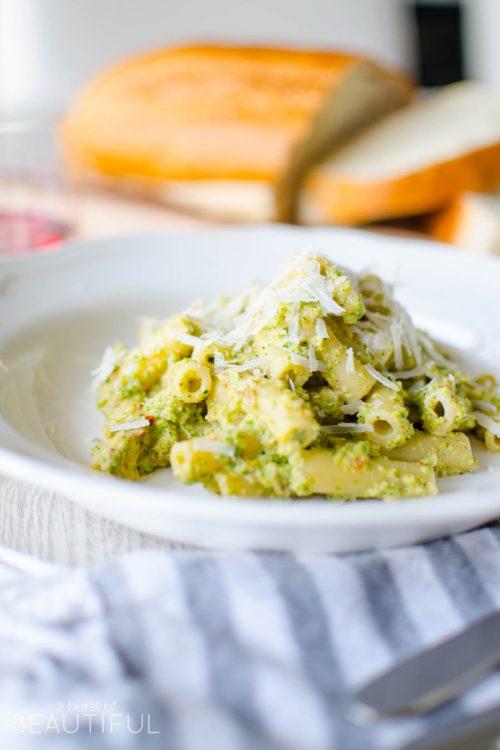 Creamy Broccoli Rigatoni