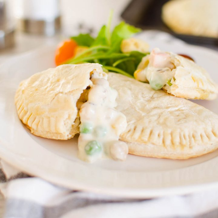 Vegetable Chickpea Pot Pie