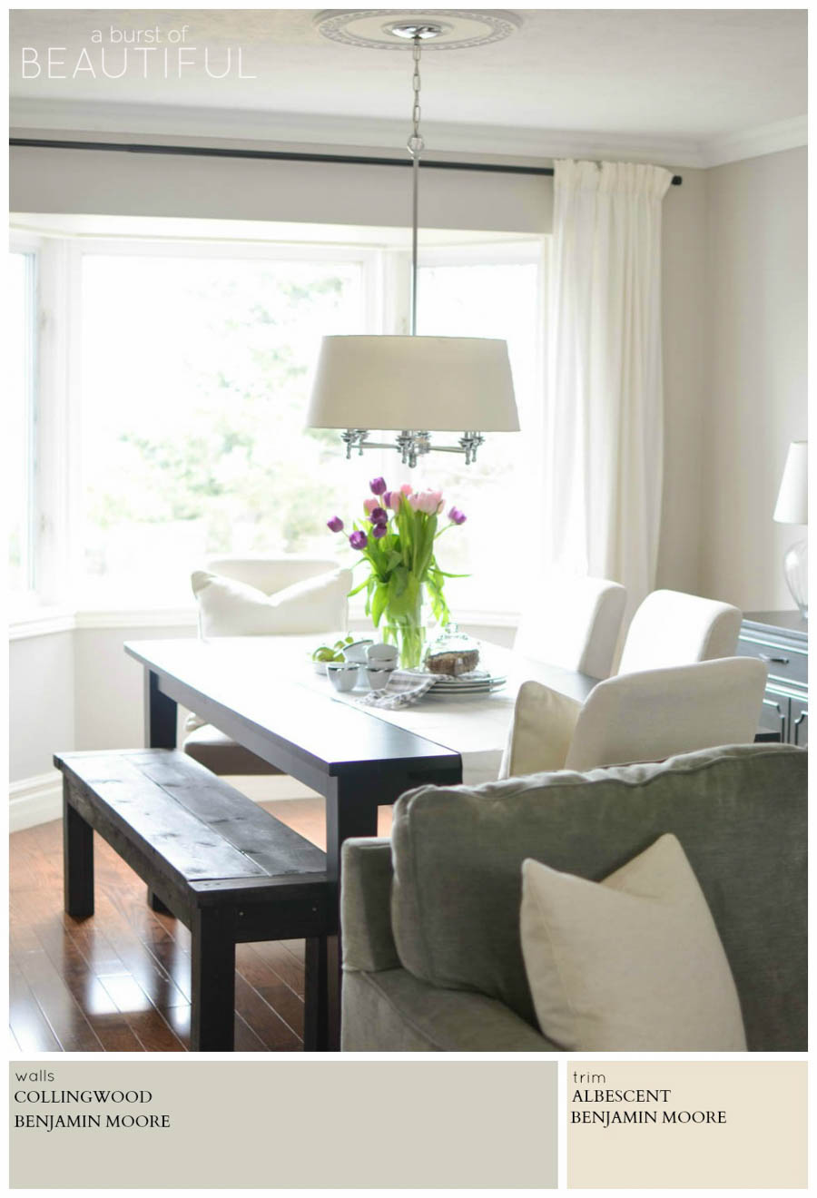 Modern farmhouse neutral paint colors a burst of beautiful - Neutral colors to paint a living room ...
