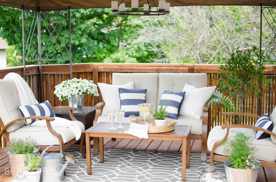 Learn How To Revive A Wood Deck And Create A Beautiful Outdoor Living Space  With These