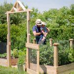Raised Square Foot Vegetable Garden – Update