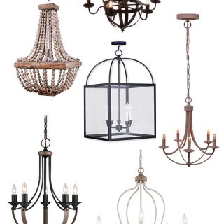 10 Budget-Friendly Farmhouse Chandeliers