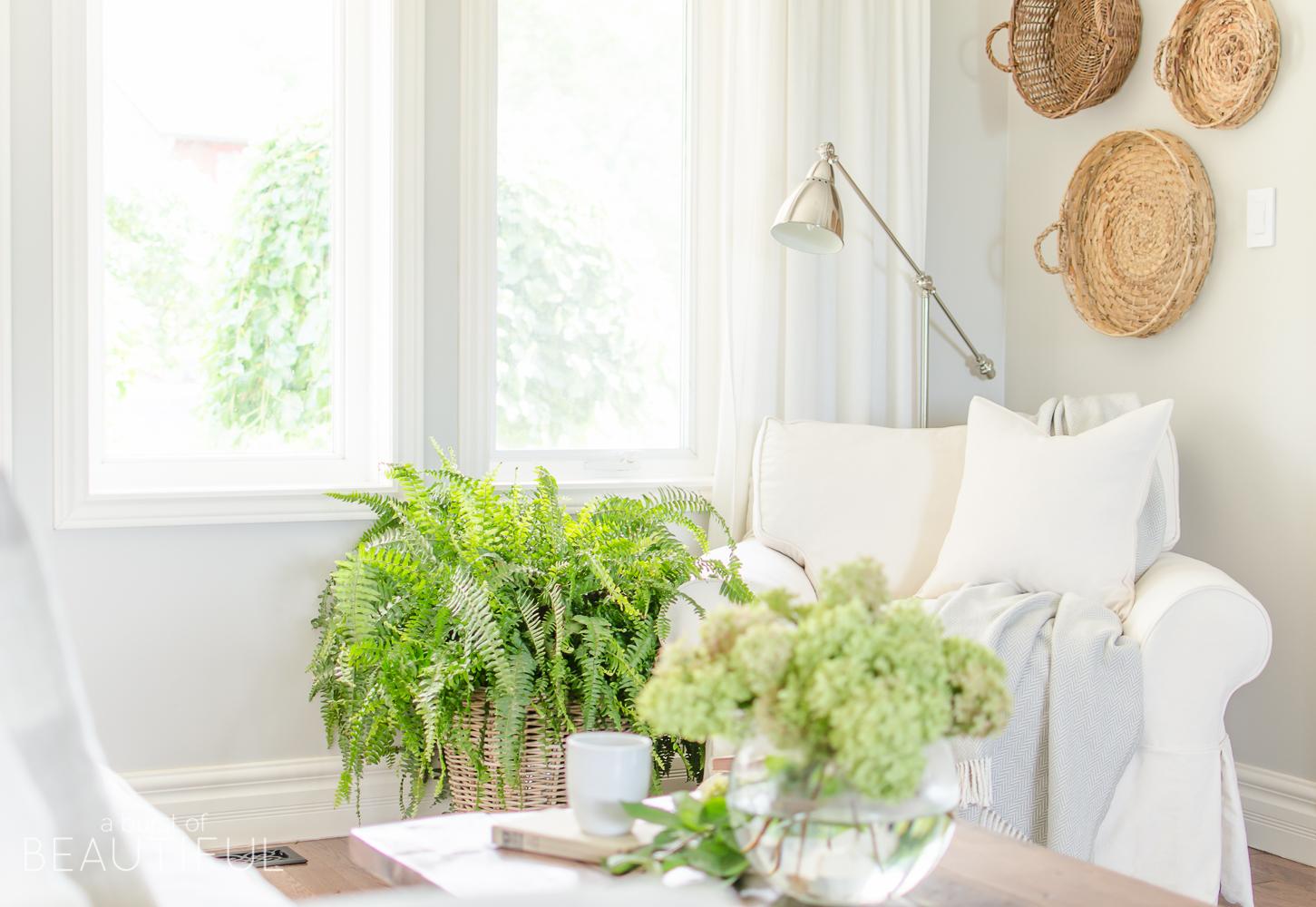 Amazing Why We Chose A White Slipcovered Sofa Nick Alicia Machost Co Dining Chair Design Ideas Machostcouk