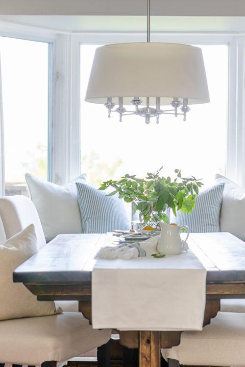 Simple Modern Farmhouse Dining Room Updates