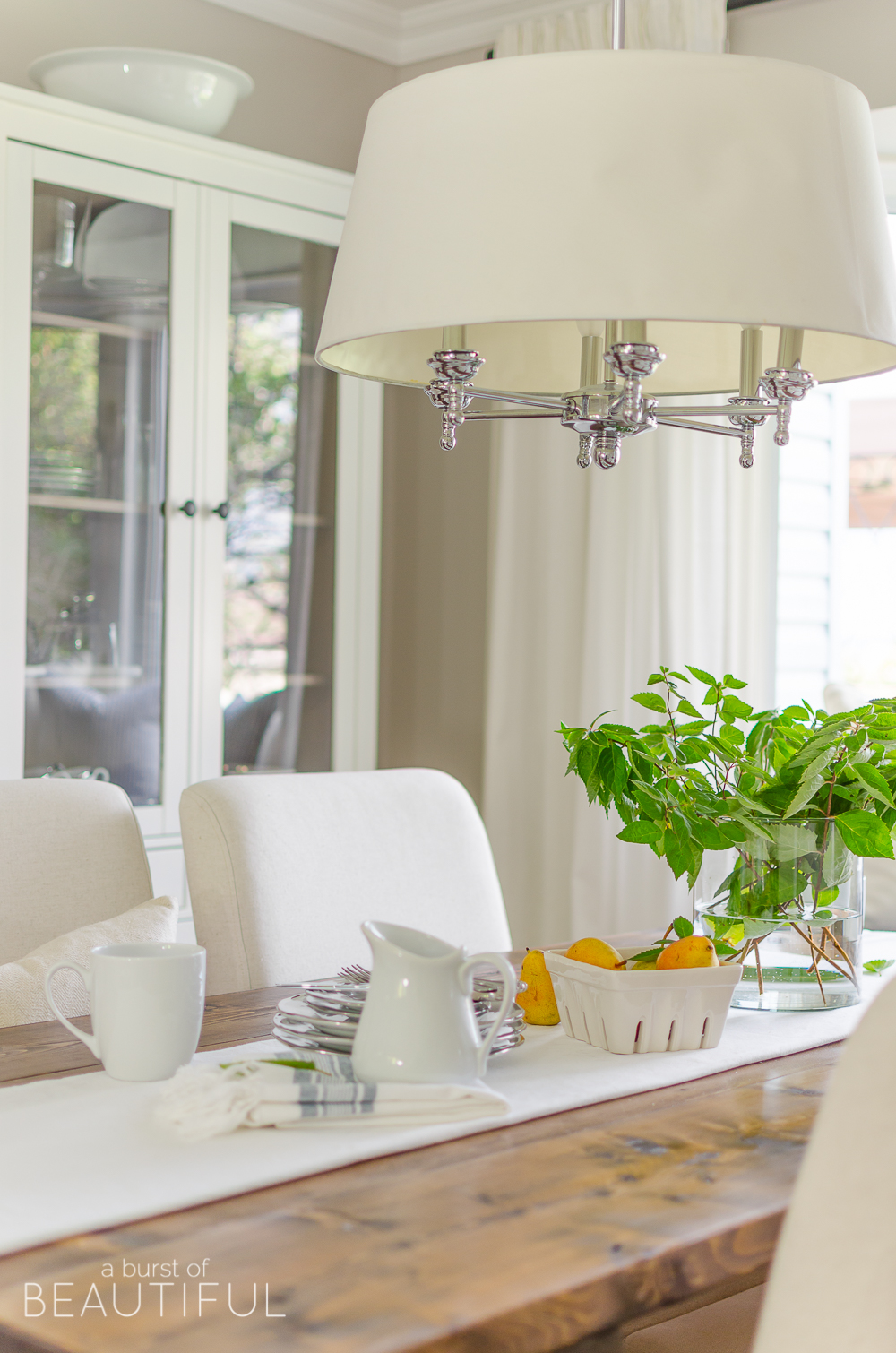 Simple Modern Farmhouse Dining Room Updates Nick Alicia