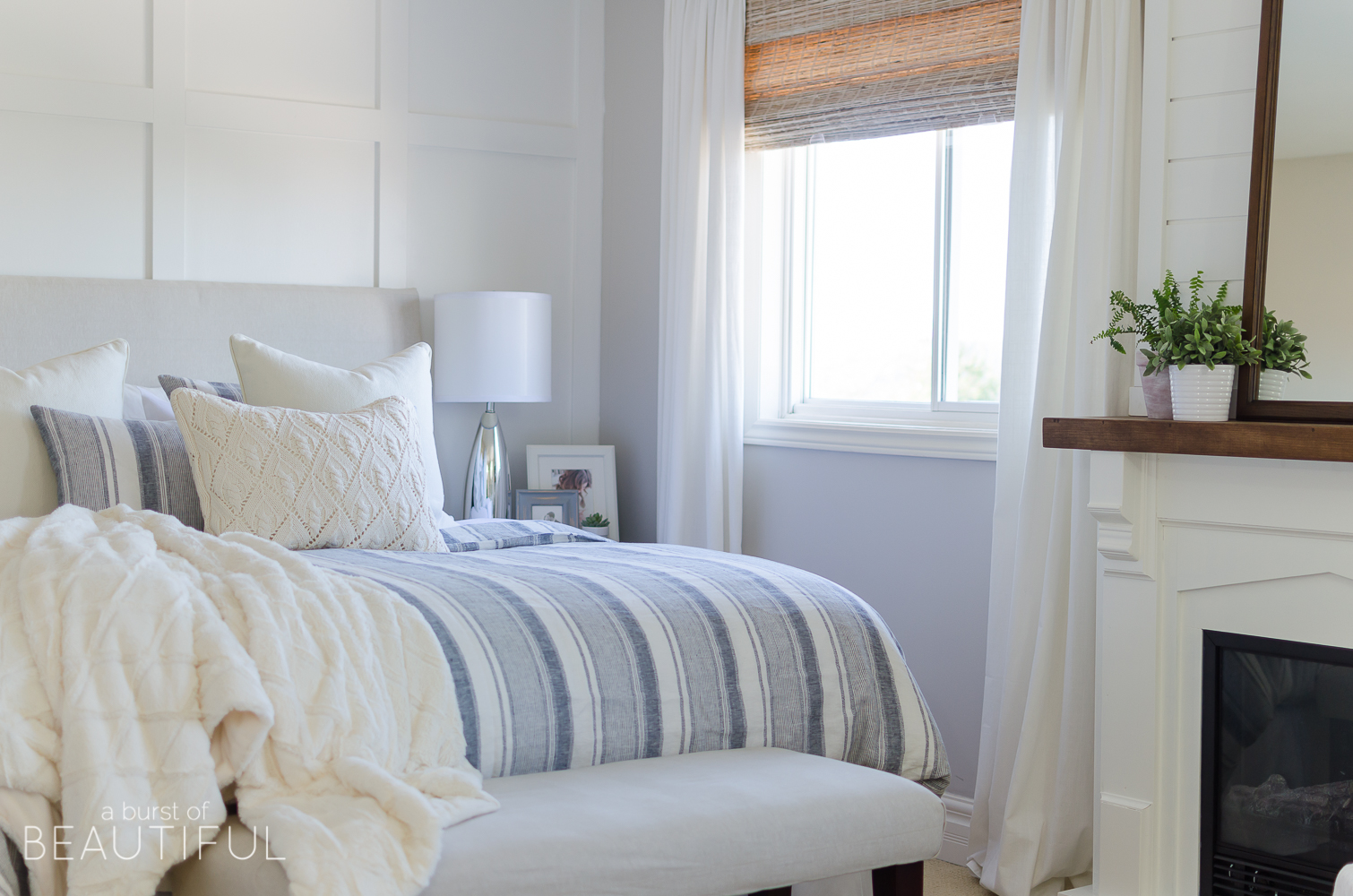 These bedding tips for a beautiful and cozy bed are simple and easy to follow